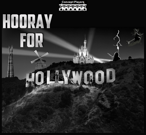 Concept Players present Hooray For Hollywood!