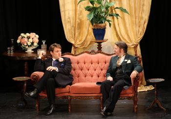 Algernon and Jack played by Shane Goodsir and Steve Hopkins