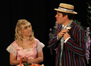 Jess and Shane as Cecily and Earnest