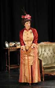 Judy Harrhy as Lady Bracknell