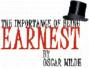 Concept players: The Importance Of Being Earnest 2005