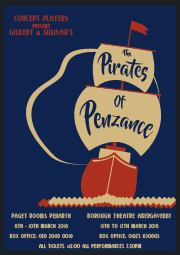 Concept Players present Pirates of Penzance